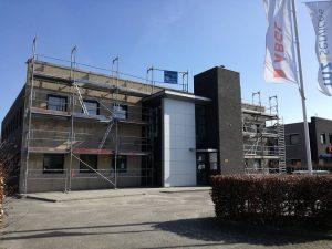 Het kantoor van MZ Services werd ingericht door de Tilburgse Mayke Brouwers.