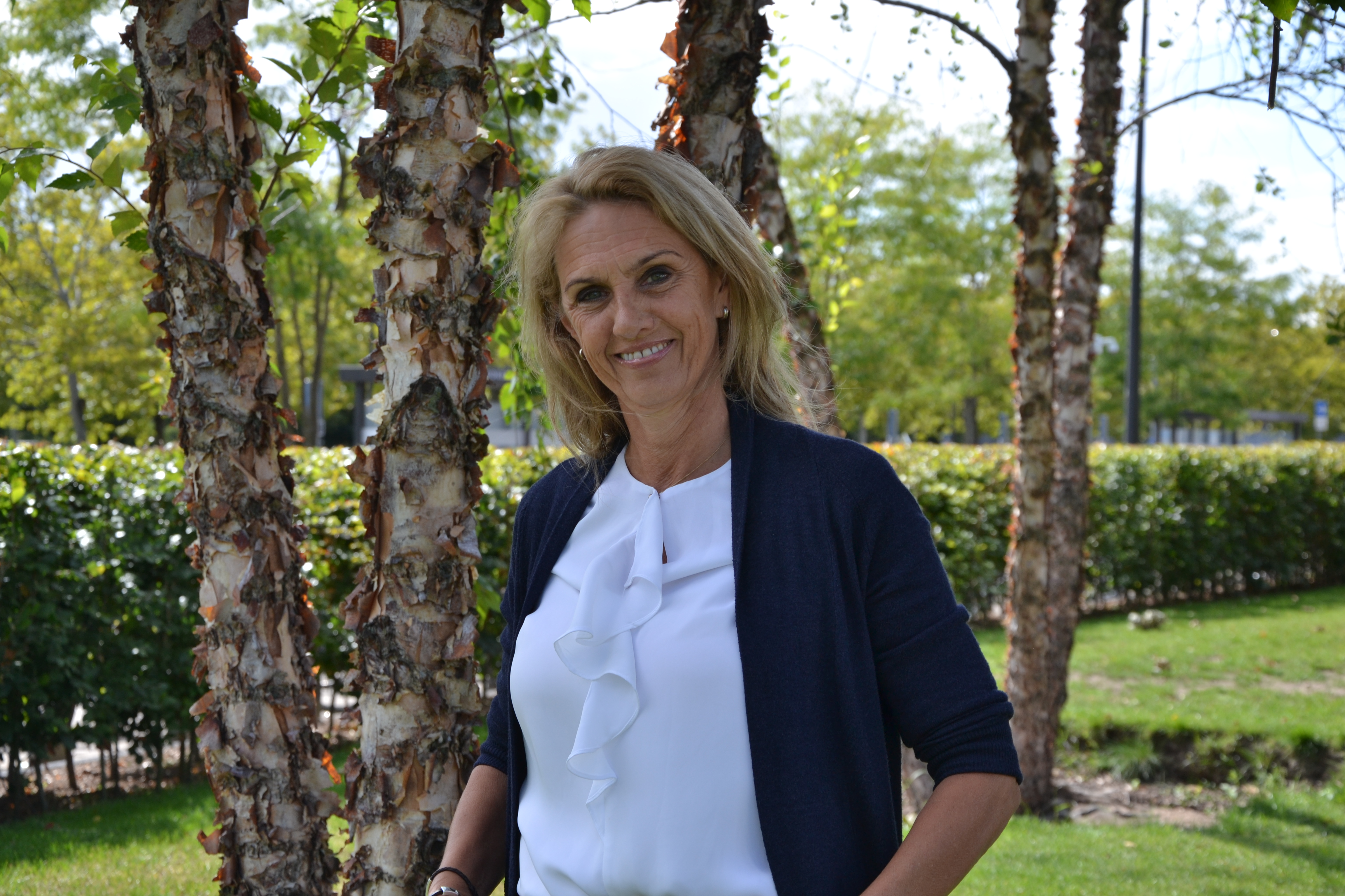 OR-voorzitter Karin Hurkens